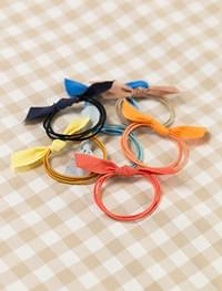 7 color ribbon detail hairband