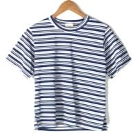 natural fit daily stripe tee