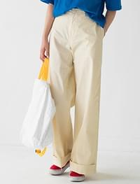 Easy High West Maxi Cotton Pants