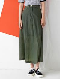 light A-line long skirt