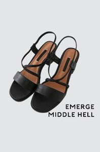Emerge-middle-heeled sandals
