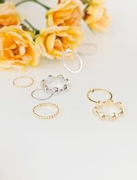 circle point ring set