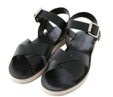 Self-made / Needs-X strap sandals