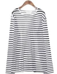 CAMP STRIPE SEETHROUGH KNIT
