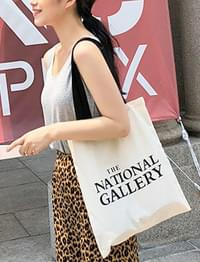 Gallery cotton bag_K (size : one)