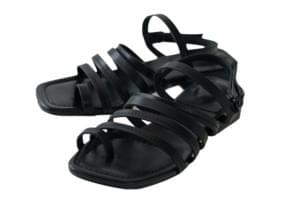 dozen strap point sandal