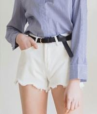 Short Cotton Pants