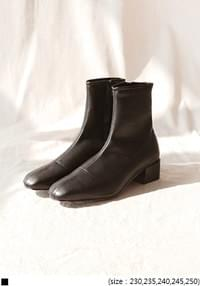 SMOOTH SLIM FIT ANKLE BOOTS