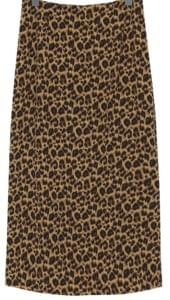 Made_bottom-156_leopard long skirt_M (size : S,M)