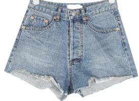 eve denim short pants (s, m)