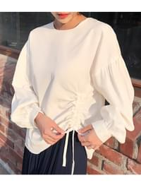Side string round blouse_H (size : free)