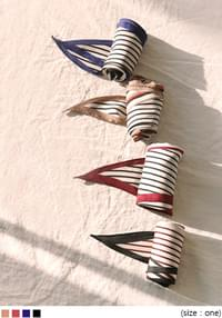 MOOD WARM COLOR STRIPE SCARF