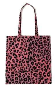 2 color leopard point cotton eco bag