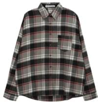 Loose Fit Check Shirt
