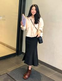 Amy Slit Mamate Long Skirt
