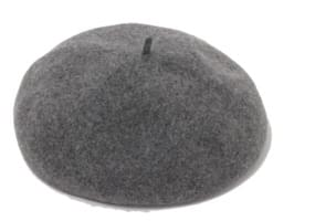 Full wool beret_K (size : one)