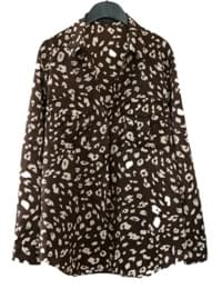leopard pattern shirt (2colors)