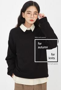 FRESH A soft round knit