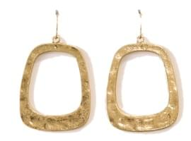 GRACE SQUARE BOLD EARRING