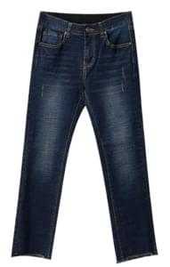 Washing band dark denim