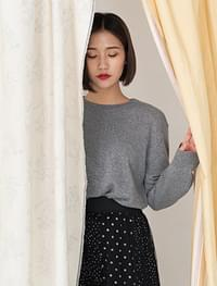 Normal round neck daily knit