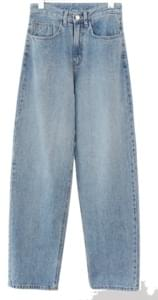 semi pot line denim pants (3colors)