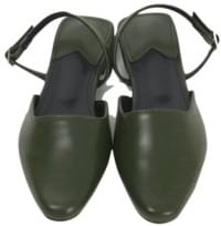 Warm color sling-back shoes_B (size : 230,235,240,245,250)