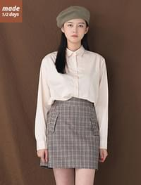 Simple Daily Cotton Shirt