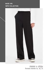 FRESH A 155cm formal slacks (s, m, l)