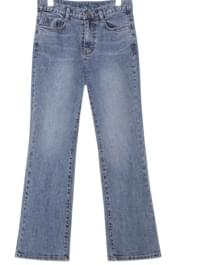 [BOTTOM] CLEAR SEMI BOOTS DENIM PANTS