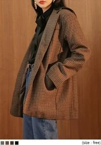 [OUTER] STURDY TAILORED JACKET - 2 TYPE