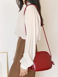 Joint knot leather bag_K (size : one)