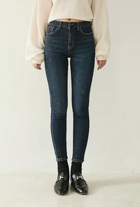 Easy pit denim pants