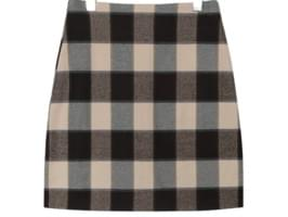 [SKIRT] BOLD NAPPING CHECK MINI SKIRT