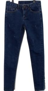 Skinny Teddy Denim Pants