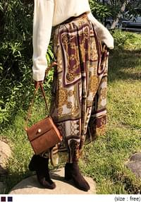 [SKIRT] CLEOPATRA BANDING LONG SKIRT