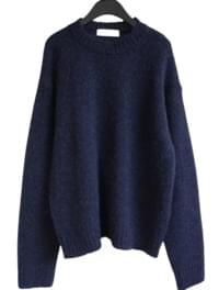 vivid tone alpaca sweater (5colors)