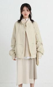 main boxy blouson (2colors)