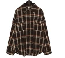 [TOP] OWNER TARTAN CHECK SHIRTS