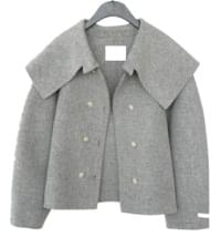 sailor collar detail jacket (3colors)