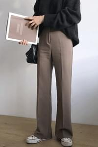 '18 Autumn Boots Cut Slacks - Jean Beige S, L / Gray Same day shipping!