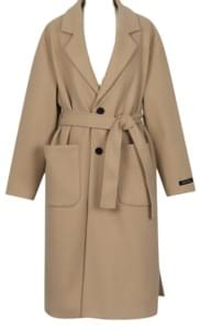 Blanc single belt coat_M (size : free)[예약주문 : 10월 22일 입고]