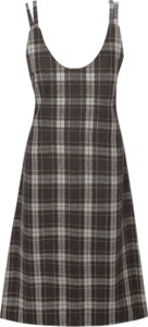 MUFFIN CHECK WOOL BUSTIER LONG OPS