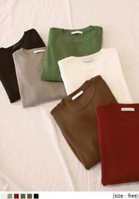 6 COLOR STANDARD ROUND KNIT