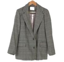 Classic Hound Check Wool Jacket