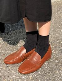 Bread simple penny loafer_S (size : 230,235,240,245,250)
