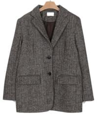 herringbone formal jacket (2colors)
