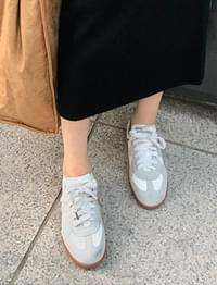 Maison leather sneakers_B (size : 225,230,235,240,245,250)