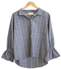 Lady Tartan Check Blouse