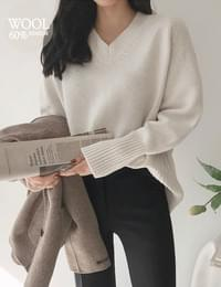 Slow wing knit